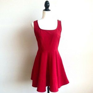 Lulus Home Before Daylight Red Dress Size L